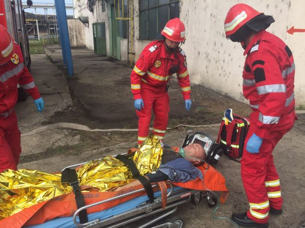 simulare incendiu turceni (2)