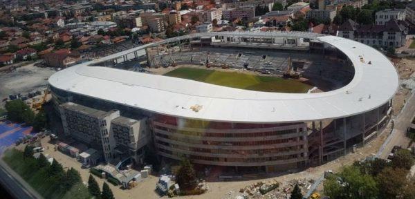vin milioanele stadion
