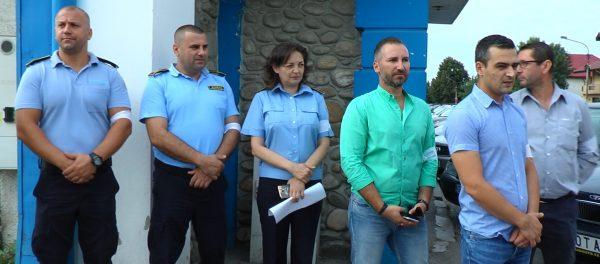 angajatii penitenciarului in greva