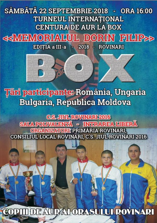 memorial dorin filip box